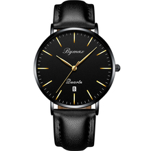 wholesale china suppliers factory elegance fashion your own brand waterproof leather men watches 2017