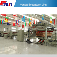 China Plywood Production Line Machinery