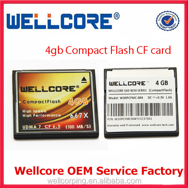Industrial Grade Compact Flash CF Memory Card 4GB 8GB 16GB 32GB 64GB 128GB