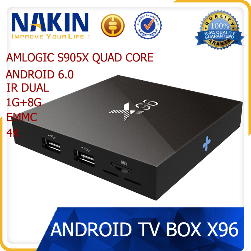 X96 Amlogic S905X android 6.0 tv box