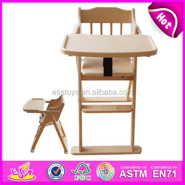 wooden free baby high chair toy for kids wooden toy free baby high
