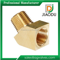 JD-2053 Tubing Fitting 45 Degree Elbow Connector Brass