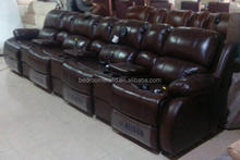 2015 fashion luxury new leather theater cinema sofa Jfr-3684-D