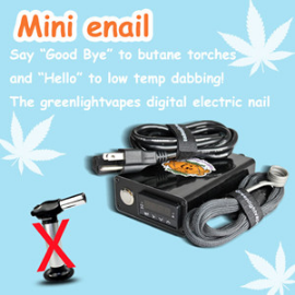 Fantastic 510 nail fit vape box mod 510 thread wax vaporizer G9 510nail henail