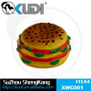 Hamburger vinyl pet toys dog chewing toys pet hamburger shape toy