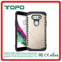 2 in 1 hybrid pc tpu phone case combo shockproof phone case cover for LG G5