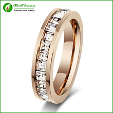 Most Popular Items Stainless Steel Diamond Ring Design