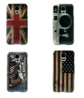 Retro Camera Glossy Hard Cover for Samsung Galaxy S5 G900