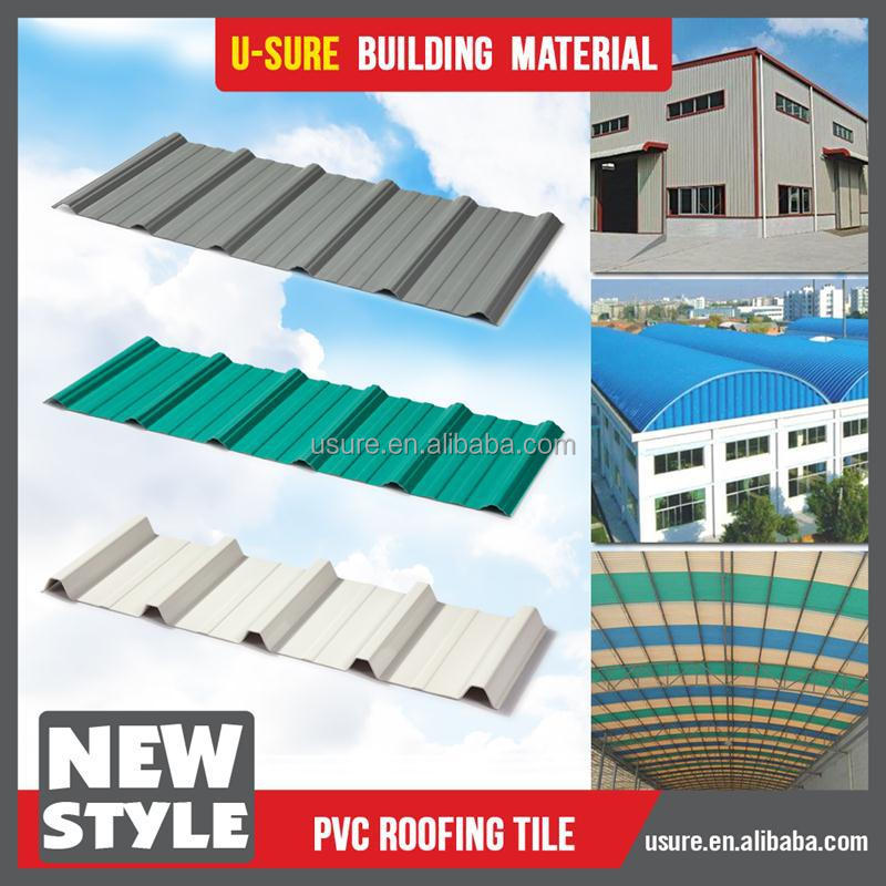 Low price pvc roof plastic sheet for roof covering