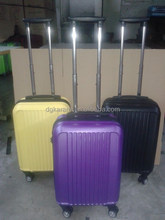 buy direct from china factory abs bright color travel luggage