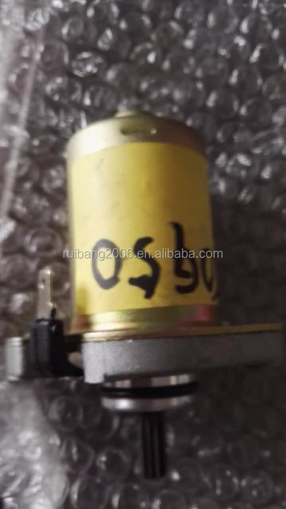 49cc 50cc Engine Motor Electric Starter For 1P40QMB