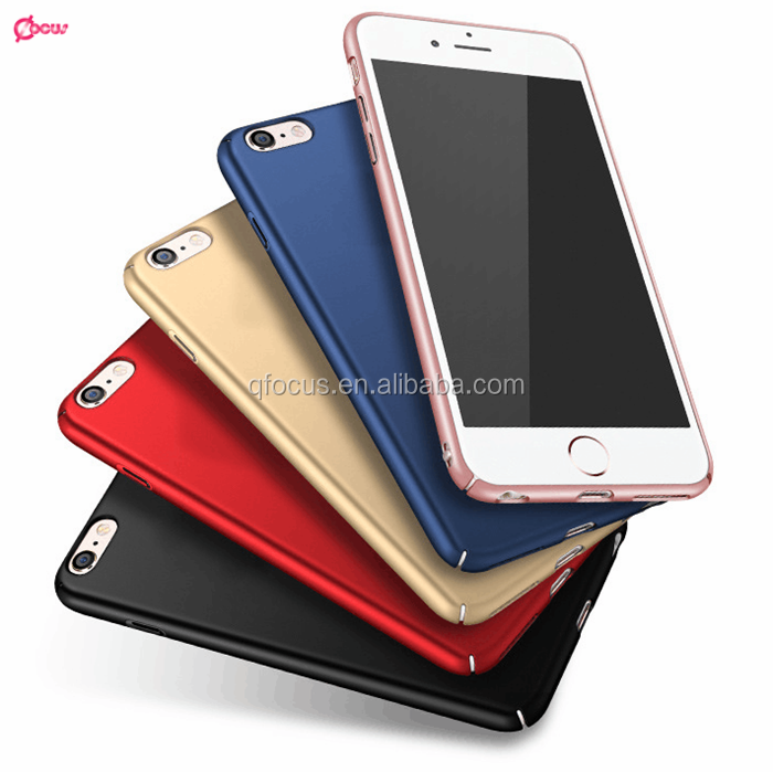 360 degree Full protective slim hard PC cell phone case for iphone7