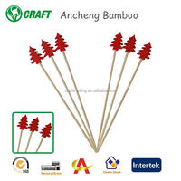 Factory sales knot party decorative bamboo Fruit Sticks