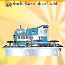 Filling and aluminum foil sealing machine for yoghourt/milk/dairy product