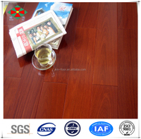 New product Indoor Kempas multilayer engineered wood floors with cherry color