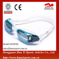 Fashionable advanced wide vision Waterproof Silicone Swim Goggles