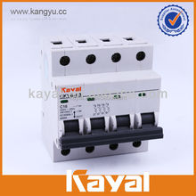 4p mini circuit breaker, mini electric circuit breaker mcb