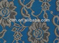 new design elastic nylon spandex lace fabric for bridal dress