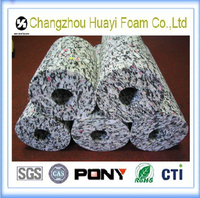 Newest high density recycle foam underlay polyurethane foam recycling