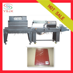 Semi automatic L type sides sealer and heat shrink packaging machine