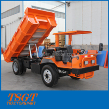 Dongfeng axle dump truck for mine use 5 ton rated load