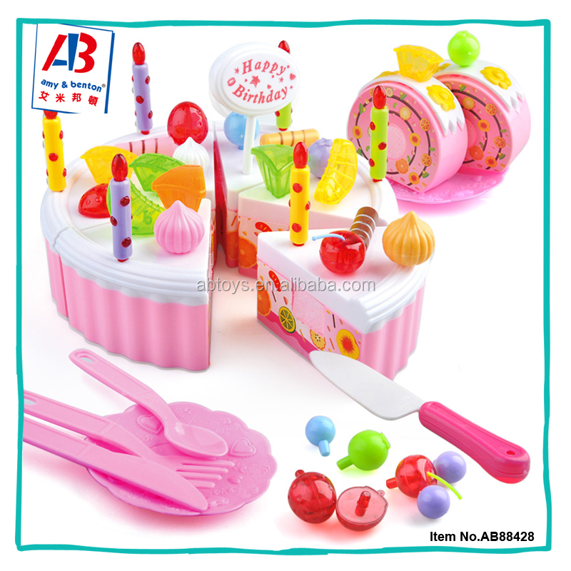 2016 Hot Sales Mini Kitchen Set Cake Toy For Kids