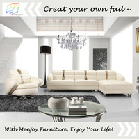 High quality made in china leather sofa on sale WQ6801