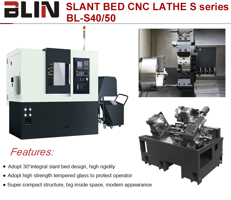 Good price Hot sale taiwan cnc lathe machine price CNC turning center with c axis(BL-TC500)