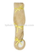 High Temperature Fibre Synthetic Hair weft Extension
