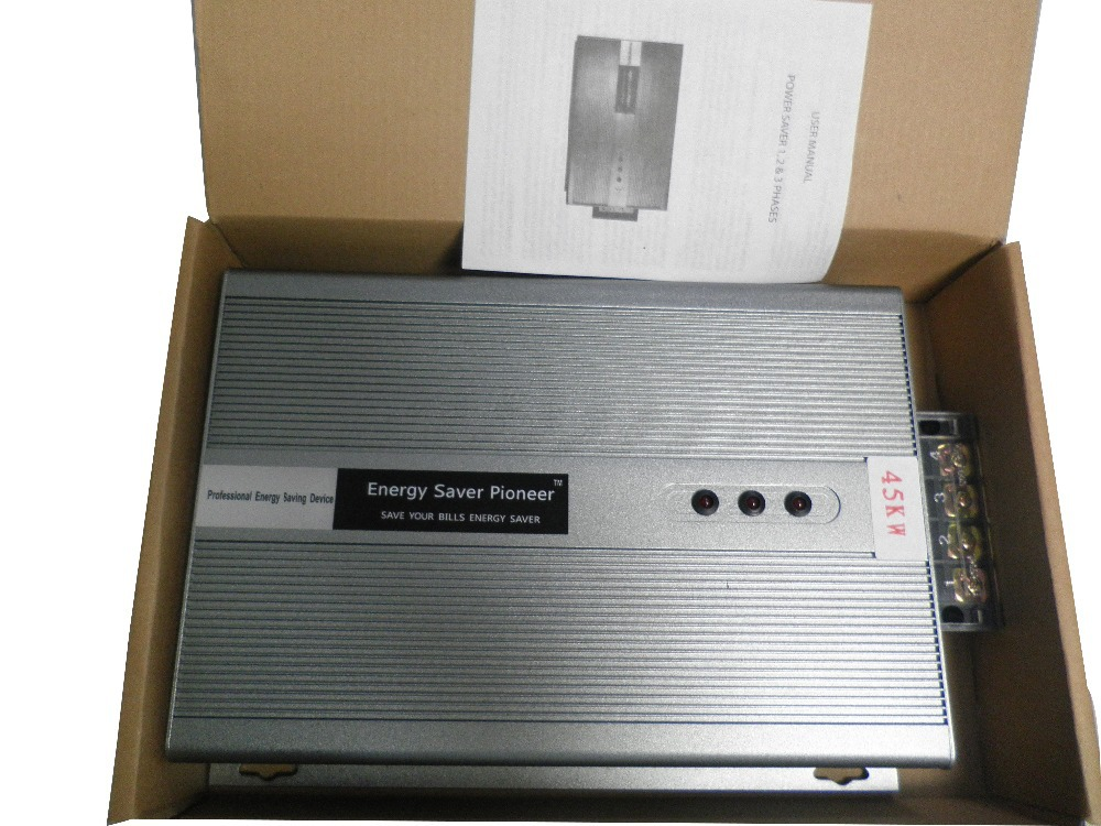60kw 3 phase Power Saver For industry and energy power saver electricity saving box, free energy