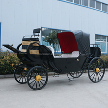 New type American Black Wedding Horse Carriage/Cart/Wagon