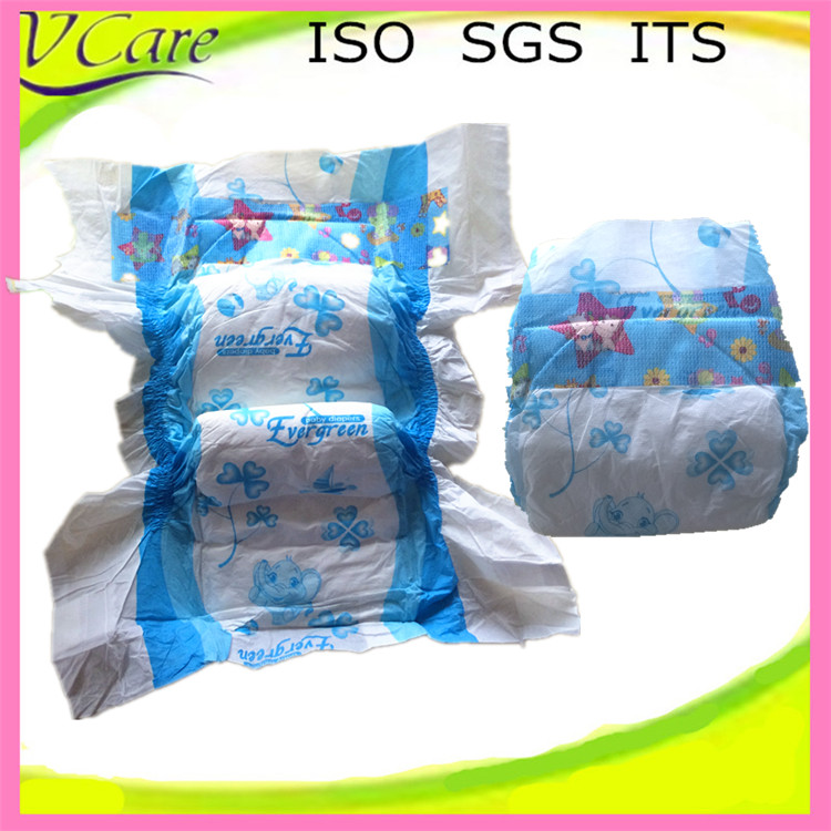 Color printed happy baby fine diaper manufacturers in China