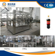 Automatic filling aerated water machine for plastic bottles soft drink plant