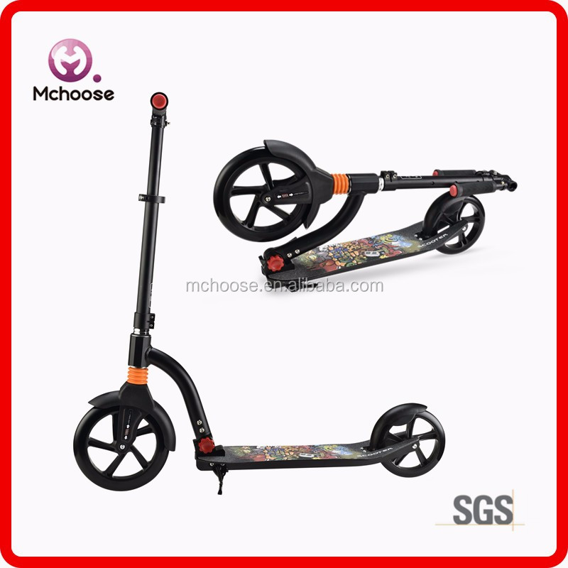 Best Xmas Gift Self Balance Kick Scooter 2 Big Wheels Bike for Adults