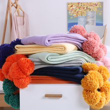 wholesale soft high quality 100 cotton blanket wraps for adults