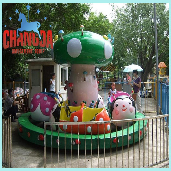 2014 hot sale indoor amusement rides park rides children riding toys ladybug paradise for outdoor children carnival games
