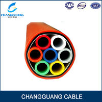 Micro duct 7/3.5mm 7 way bundle pipe-cable duct, FTTH fiber duct