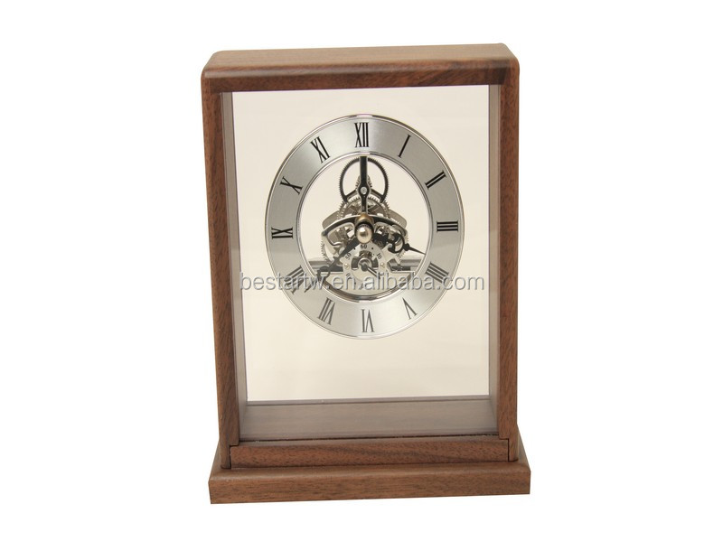 christmas gift table wooden clock wall wood clock by bestar