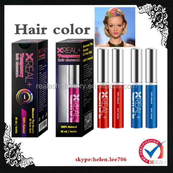 2014 new designed color hair spray/Real Plus hair dye