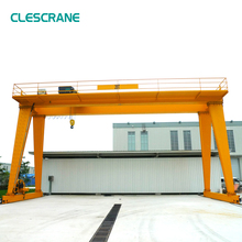 High quality workshop used 20 ton double girder gantry crane for lifting steel plate and fabrication