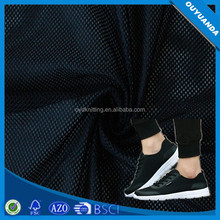 Light Weight 100% Polyester Net Fabric For Sport Shoes