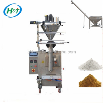 500g 1000g Auger filler Starch Flour Packing Machine HT-420F