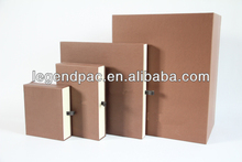 Brand paper box for gift and wallet packaging
