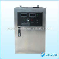 Ozone 30g/h, disinfection space 1000m3 commercial ozone air purifier for odor control, exhaust duct