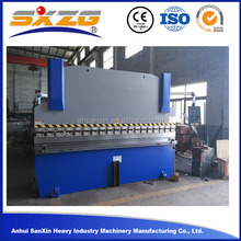 What hot in China manual hand press machine WC67Y 160T/4000 flat bar angle bending machine