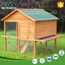 Outdoor Poultry Equipment Fir Wood Chicken layer cage Wooden Pet House for sale