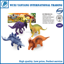 wholesale forest animals toys small plastic pvc dinosuar toy
