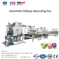 2016 Hot Sale Automatic lollipop depositing machine hard candy machine