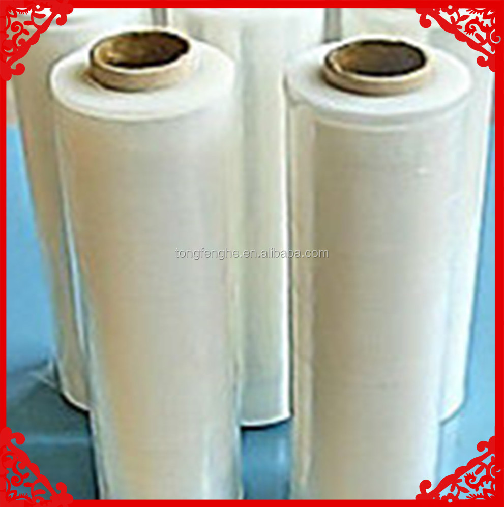 23mic Film Blue Lldpe Pallet Wrap Packaging Strech Film