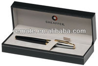 2014 new style black Sheaffer Sagaris Gift pen box with customized logo